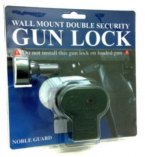 Packaged gun locks